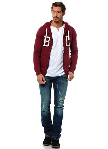 T-Box Sweatshirt Bordo